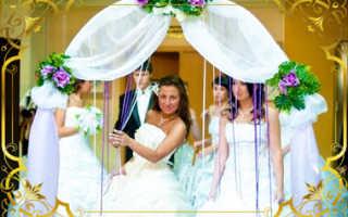 Как сделать арку на свадьбу своими руками, несколько вариантов