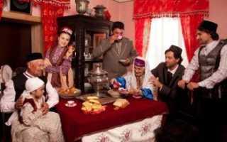 Татарская свадьба – сохранение нации через возрождение свадебных обрядов