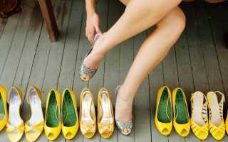 Какой должна быть обувь для дружки