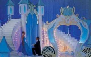 Свадьба в стиле «Золушки» – сказка для романтичных принцесс