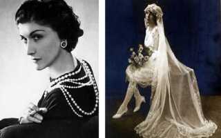 Свадебное платье в стиле Шанель: модели, их описание