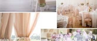 Романтичная и воздушная свадьба в пастельных тонах