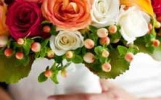 Яркий акцент на свадьбе – букет невесты из оранжевых цветов