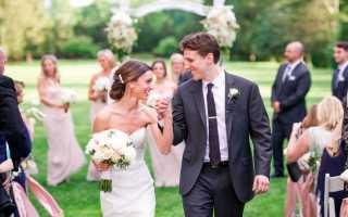 Свадьба в американском стиле – особенности сценария