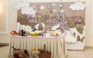 Свадьба в стиле «Париж» – элегантность и роскошь Франции
