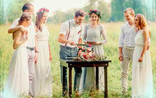 Интересные идеи для проведения свадьбы без гостей и без банкета