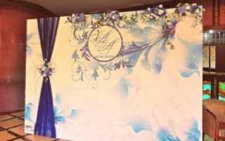 Баннер на свадьбу для фото: самые популярные темы для оформления