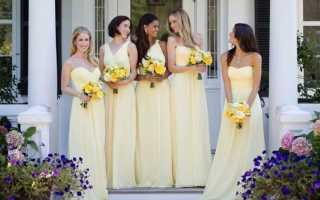 Сине-желтая свадьба: счастье в ярких тонах