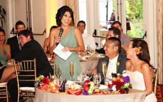 Порядок тостов на свадьбе – соблюдение свадебного этикета