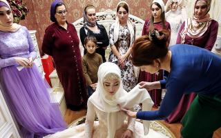 Традиции чеченской свадьбы или как выходят замуж чеченки