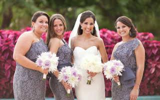 Платье для свидетельницы на свадьбу: выбираем правильно