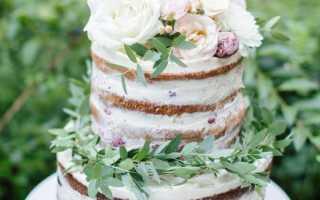 Как своими руками приготовить простой и многоярусный торт на свадьбу из мастики
