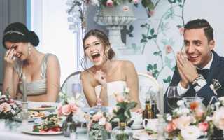 Лучшие варианты застольных конкурсов на свадьбу для гостей