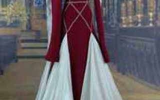 Свадебные платья в средневековом стиле: фасоны, цвета и модели