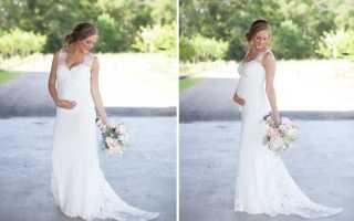 Свадьба для беременной невесты — можно ли?