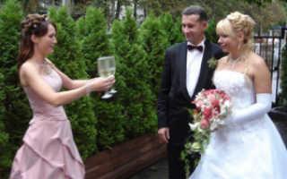 Лучшие тосты на свадьбу от свидетеля (подборка)