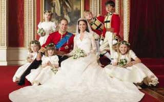 Свадебное платье в строгом стиле – выбор королевских особ