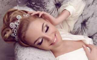 Невеста шатенка: создание образа и выбор макияжа