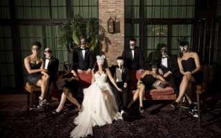 Свадьба в стиле маскарад: как организовать яркое событие