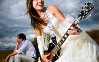 Свадебные платья в стиле рок: от панка до харда