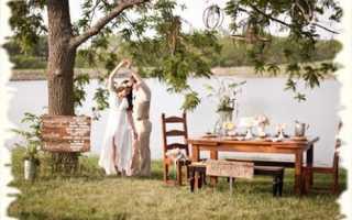 Свадьба на базе отдыха – преимущества и особенности