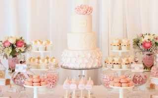 Candy bar на свадьбу – оригинальное решение для сладкого стола