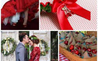 Свадьба в вишневом цвете – всё о её организации