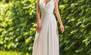 Свадебные платья под греческий стиль – почувствуй себя богиней