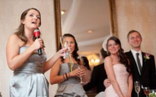 Поздравление на свадьбу от свидетеля и свидетельницы, что говорить