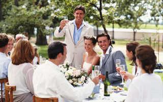 Рекомендации для поздравления со свадьбой от друзей