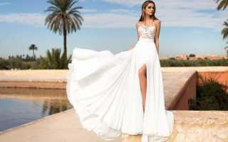 Платья в пол для свадьбы летом: основные тенденци