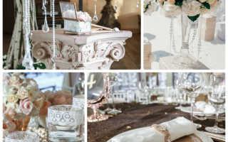 Модная и стильная свадебная классика