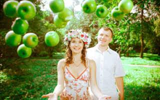 Свадьба в яблочном стиле – свежий аромат счастья