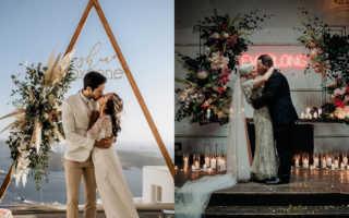 Свадьба в стиле модерн: смешай старое и новое!