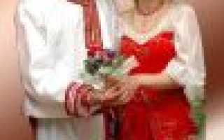 Свадьба в народном стиле: идеи сценария