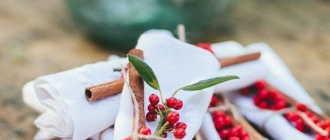 Зимняя свадьба: идеи декора с использованием шишек, дерева и палочек корицы