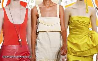 Модные цвета сезона весна-лето, – какие оттенки будут в моде в этом году?