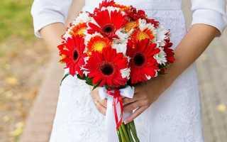 Как сделать свадебный букет из хризантем своими руками