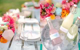 Идеи оформления весенней свадьбы, приглашений и подарков для гостей