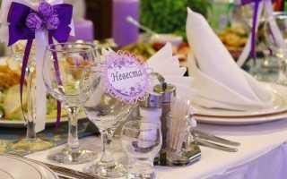 Составляем меню для летней свадьбы