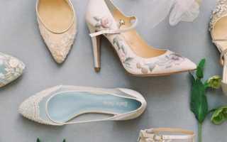 Рекомендации от стилистов по подбору туфелек для невесты