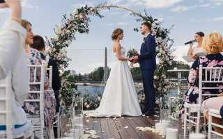 Организация свадьбы — с чего следует начать