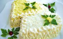 Вкусные салаты на свадьбу летом: составляем меню праздничного стола