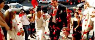 Подробный сценарий свадьбы в европейском стиле