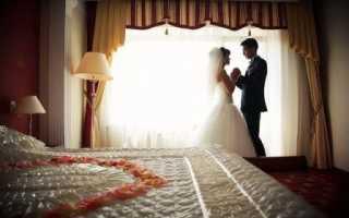 Первая брачная ночь: как провести и где, идеи оформления