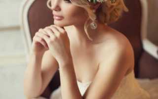 Свадебные прически: модные тенденции с фото