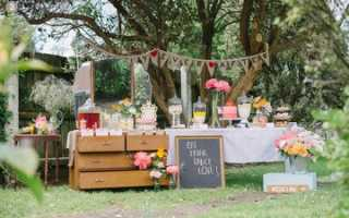Свадьба в деревне летом: оформление в стиле рустик