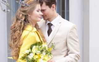 Стиль свадьбы весной, какой выбрать