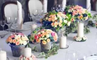 Декор свадьбы: флористика для разных стилей свадьбы