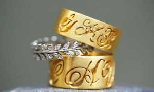 Привлекательность и особенность широкого обручального женского кольца